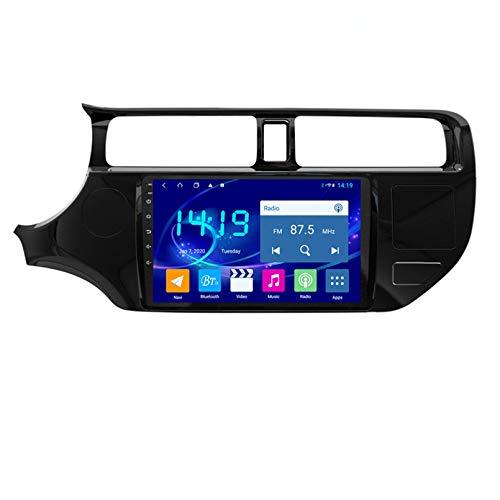 Sistema De Navegación GPS Android Navegación Doble DIN - Para Kia RIO 2012-2014 Pantalla De 9.0 Pulgadas Radio Estéreo WiFi Para Automóvil Con Reproductor Bluetooth USB Cont(Size:2G+32G,Color:4G+WiFi)