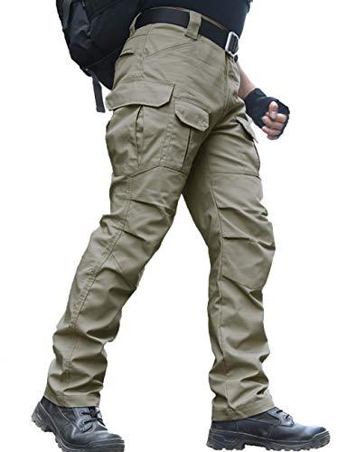 zuoxiangru Pantalones Resistentes al Agua para Hombres Pantalones de Trabajo de...