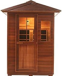 Canadian Red Cedar 3 Person Backyard Sauna