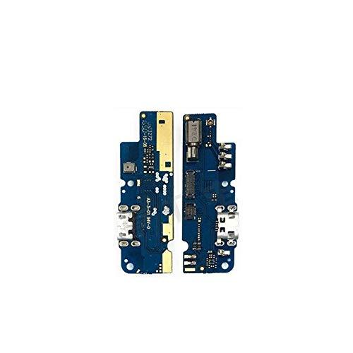 HDHUIXS Compatibilidad De Carga USB Puerto For Tarjetas con el teléfono micrófono Flex Cable For ASUS Zenfone 3S MAX ZC521TL X00GD móvil Profesional