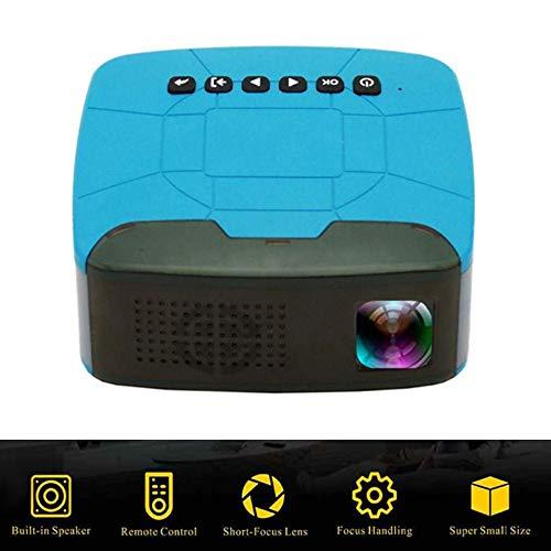 Winnes Mini draagbare projector, Full HD 1080P Mini Beamers Mini projector Met afstandsbediening Binnen en buiten voor Home Theater