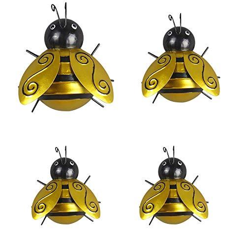 1/4 Stück Käfer Gartenfigur Wandhaken...