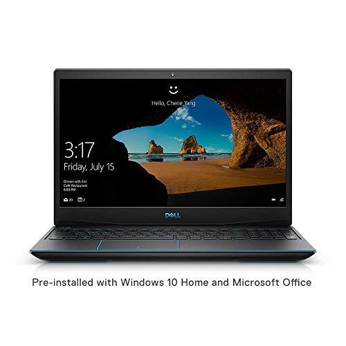 DELL Inspiron G3 3590 15.6-inch Laptop (9th Gen Core i7-9570H/8GB/512GB SSD/ Nvidia GTX 1660Ti 6GB Graphics /Windows 10 Home+ MS Office), Black