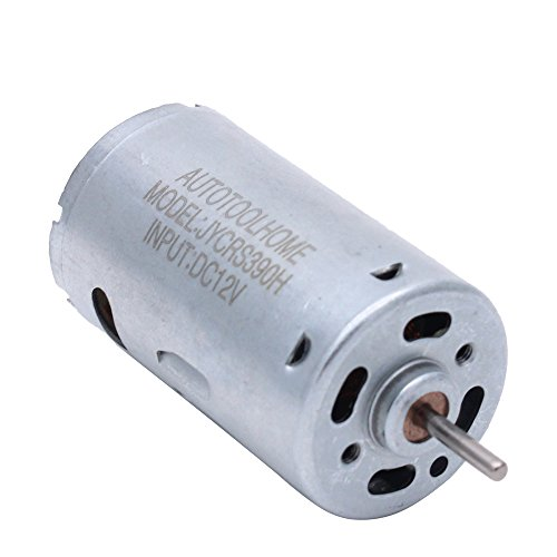 AUTOTOOLHOME 6-12V Mini DC Motor High Torque Gear for Traxxas R/C and Power Wheels PCB DIY Electric Drill