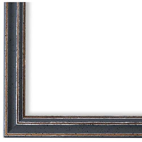 Online Galerie Bingold Bilderrahmen Grau 30 x 40 cm 30x40 - Modern, Shabby, Vintage - Alle Größen - handgefertigt - WRF - Cosenza 2,0