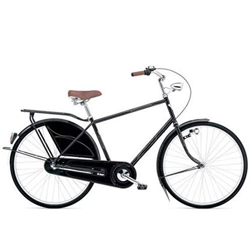 TWW Bicicleta para Hombre Bicicleta para Adultos De 28 Pulgadas Barra Grande Retro 3 Velocidades Bicicleta para Adultos Movilidad Urbana Carretera Coche Deportivo Bicicleta Bicicleta,Inner 3 Speed
