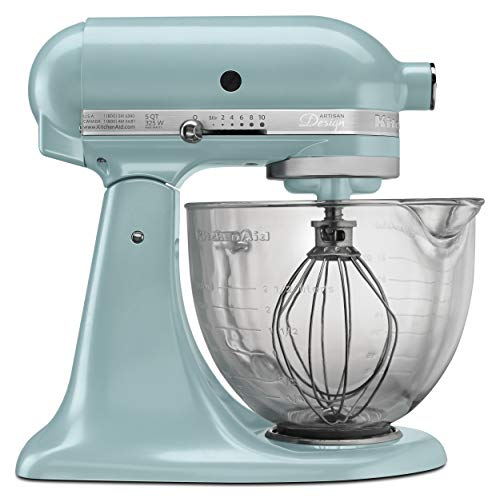 KitchenAid 5-Qt. Artisan Design Series with Glass Bowl - Azure Blue