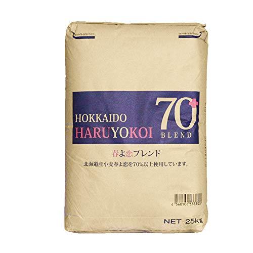 強力粉 春よ恋ブレンド 北海道産パン用小麦粉 業務用 25kg