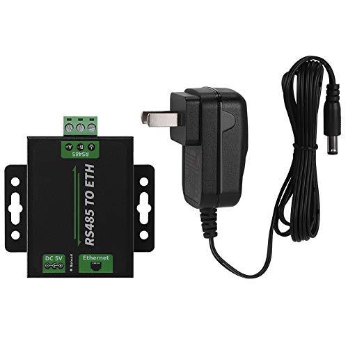 Hazmejor Voeding - Waveshare RS485-Ethernet-converter Cortex-M0-processor hoge snelheid uitbreidbaar (Amerikaanse stekker 100-240 V)
