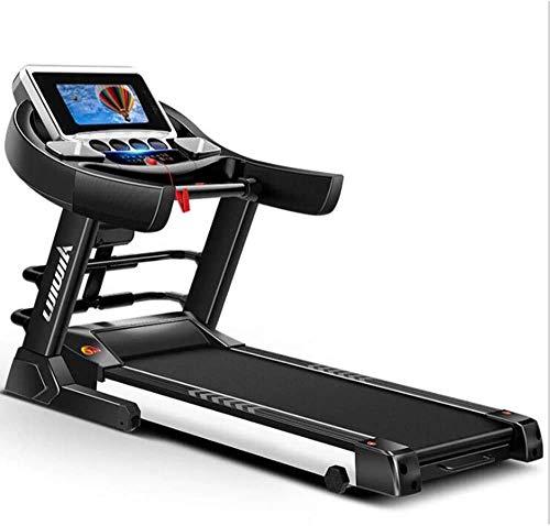 cinta de correr de gama alta Cinta de correr Wifi inteligente para caminar, equipo de gimnasia multiusos plegable y silencioso que absorbe los golpes, ajuste manual de inclinación de 6 velocidades