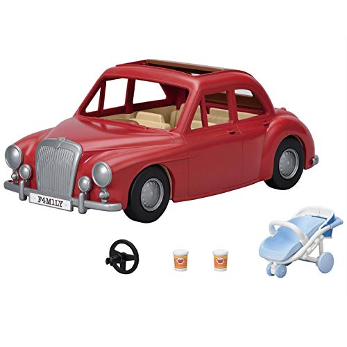 Calico Critters Family Cruising Car for Dolls, Toy Vehicle Seats up to 5 Collectible Figures