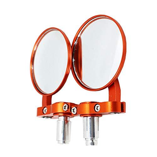 outdoor equipment Pliant Rétroviseur de Guidon, Accessoires de vélo électriques de Miroir de Miroir de véhicule de Moto, Convient aux poignées d'un diamètre intérieur de 13mm à 17mm