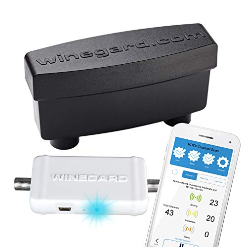 Winegard Boost XT Pro - Outdoor Ultra-Low Noise Preamplifier + Integrated Channel Finder