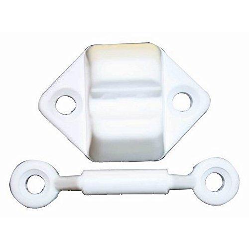 W4 - Retenedor de puerta modelo veneta (Talla Única) (Blanco)