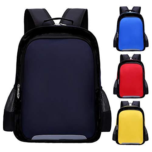 VIUNCE Primary School Schoolbag Nieuwe mannen en vrouwen Set Kinder-School-Bag Basisschool Kinderdag-rugzak Kinderrugzak (Color : Red)