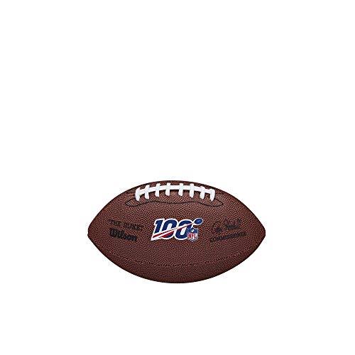 Wilson NFL 100 Mini Football Fußball, braun