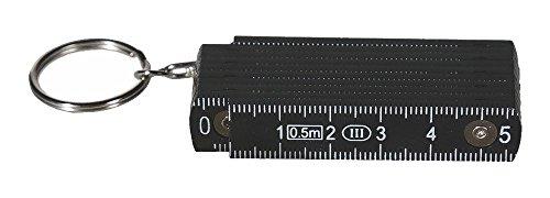 OOTB Schlüsselanhänger »Zollstock« 50 cm (Schwarz)