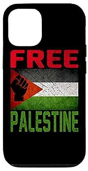 iPhone 12/12 Pro Free Palestine Gaza Flag Arabic West Bank Middle East Peace Case