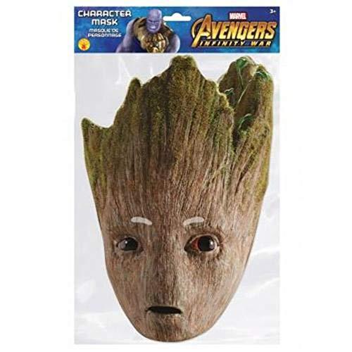 sap-media Groot-Pappmaske Avengers Infinity War braun-grün Einheitsgröße