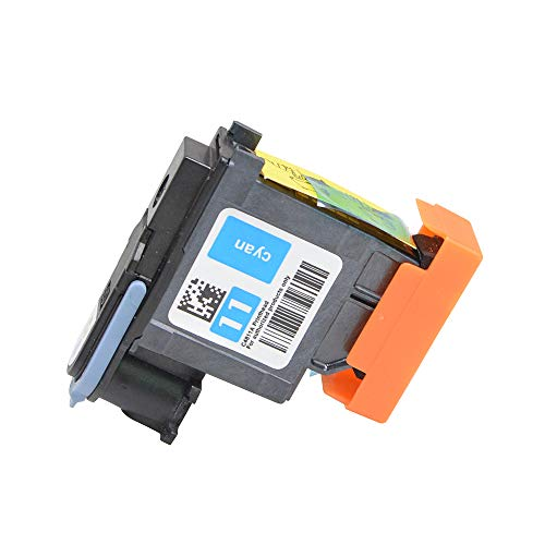 Price comparison product image Wenon 1 Pack Cyan fit for HP 11 C4811A Printhead Replacement 11 Printhead Inkjet1000 1100 2230 2280 2280tn 2300 2300dtn 2600 2600dt 1100dtn