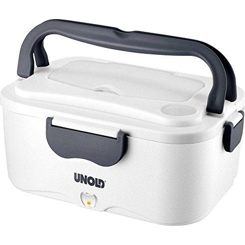Unold 58850 Elektrische Lunchbox, Kunststoff, Weiß, 23.2 x 16.5 x 11.5 cm