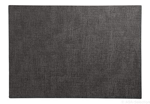 ASA 78093076 Tischset, Platzset - grau/anthrazit - Kunststoff - 46 x 33 cm - 1 Stück