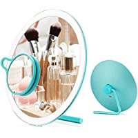 Dearwhite Led Makeup Mirror with 3X Magnifying Mirror
