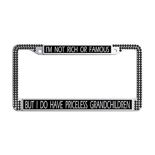grandchildren license plate frame - 7