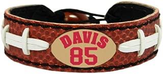NFL San Francisco 49ers Vernon Davis Classic Jersey Bracelet