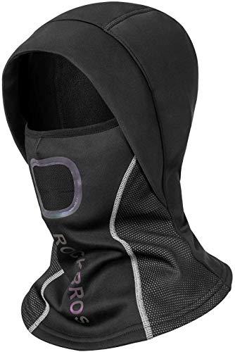 ROCKBROS Sturmhaube Kopfbedeckung Atmungsaktiv Winter Mütze Balaclava für Outdoorsports Fahrrad Motorrad Snowboard Reflektierend Winddicht Anti-Staub Herren Damen