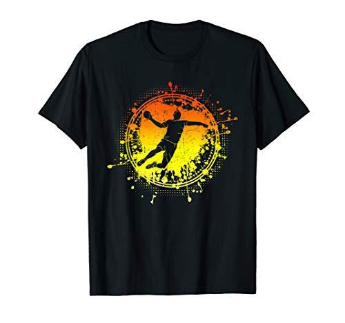 Cooles Handballmotiv   Handball Spieler Team Geschenk T-Shirt