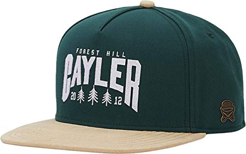 Cayler & Sons Unisex C&S CL Cayler Hill Cap Baseballkappe, Forest/Sand, one Size