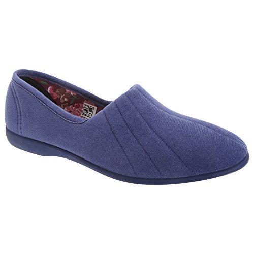 GBS Audrey Ladies Slipper Blueberry Size 8