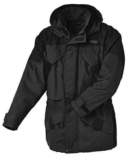 Pinewood Herren Lappland Extrem Jacke, Dunkel Anthrazit/Schwarz, XL