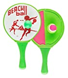 Giocare Fun 7408444-2 1 Beach Ball Set, 2 Racchette e Palline