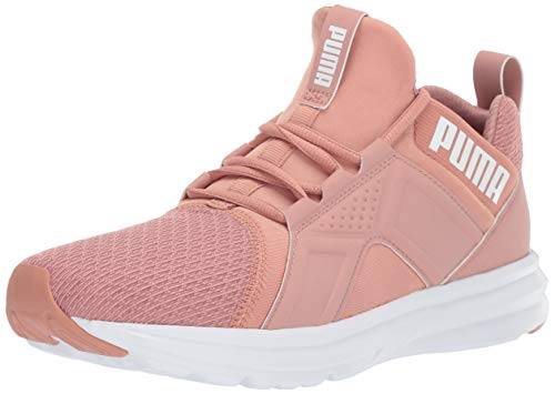 PUMA Women's Zenvo Sneaker, Cameo Brown White, 8 M US