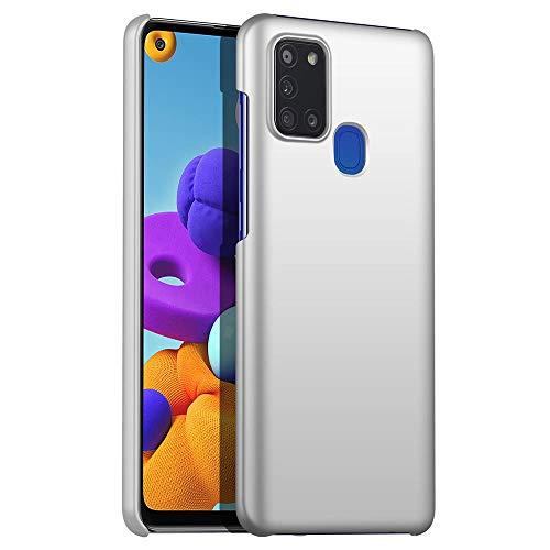 Anceky Funda ultrafina compatible con Samsung Galaxy A21s, ligera, elegante, antiarañazos, antigolpes