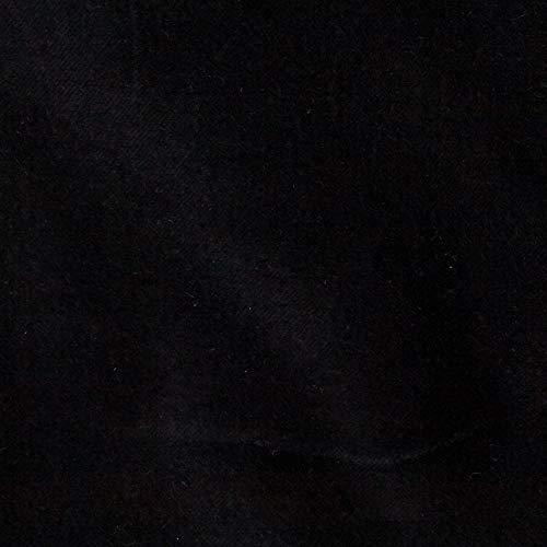 Robert Kaufman 0416181 Kaufman Lush Velveteen Black Fabric by the Yard