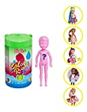 Barbie Color Reveal Chelsea Doll with 6 Surprises: Water Reveals Doll's Look and Creates Color Change on...