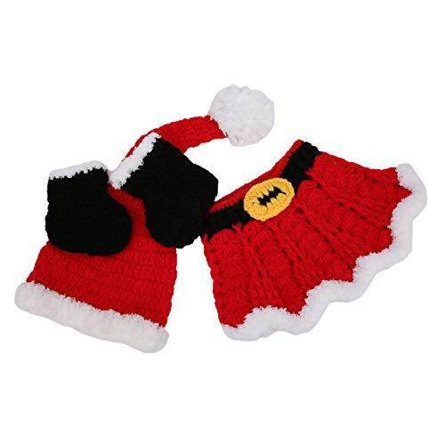 Ropa de Navidad para bebé niña Accesorios de fotografía de bebé para...