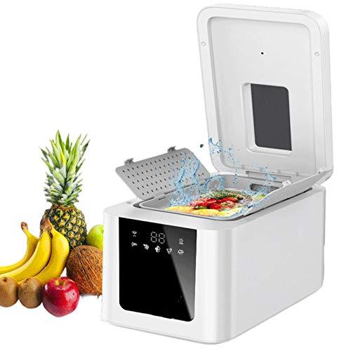 JFF Lavadora de Frutas y Verduras Ozono sónico Inteligente Uso doméstico Limpiador de Frutas y Verduras Sistema de Lavado Lavadora Salud