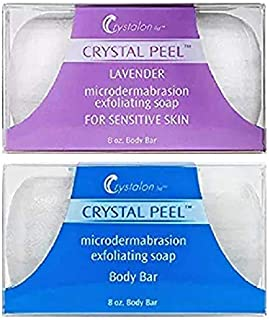 Crystal Peel SOAP DUO (Lavender and Original MICRODERMABRASION SOAP) - (Size 8 oz Each)