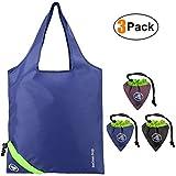 Einkaufstasche Faltbar Shopping Bags Erdbeere 3 Stück