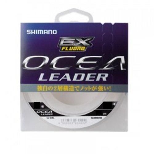 シマノ(SHIMANO) ショックリーダー オシア EX フロロカーボン 30m 4号 16lb クリア CL-O26L 釣り糸