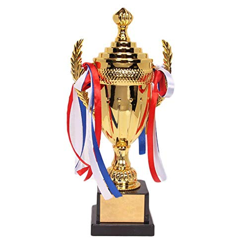ZGYAQOO Trophy Cup Awards Fantasy Football Trophy Cup Award Medaille Vergoldete Souvenir-TrophäE FüR Sport-Meeting-Wettbewerbe