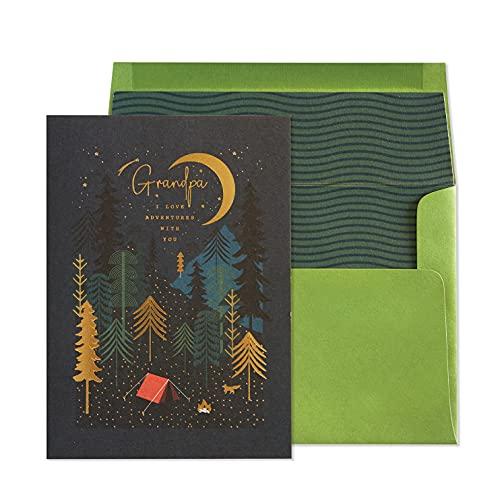 NIQUEA.D Geburtstagskarte für Opa Camping (NB-0157)