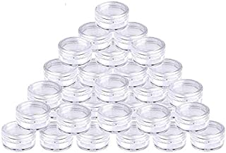 50 Pcs 5 ml Envase Cosmético Vacío Pequeño Plástico