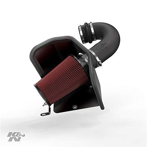K&N Cold Air Intake Kit: High Performance, Guaranteed to Increase Horsepower: 50-State Legal: 1994-2002 Dodge Ram (2500, 3500) 5.9L L6 Diesel,57-1525