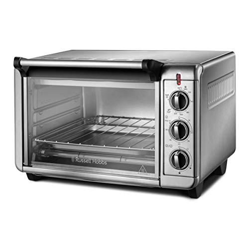 Russell Hobbs 26090 Express Mini Oven - Countertop Electric Oven and Grill, 2.5x Faster than a Conventional Oven, 1500 Watts