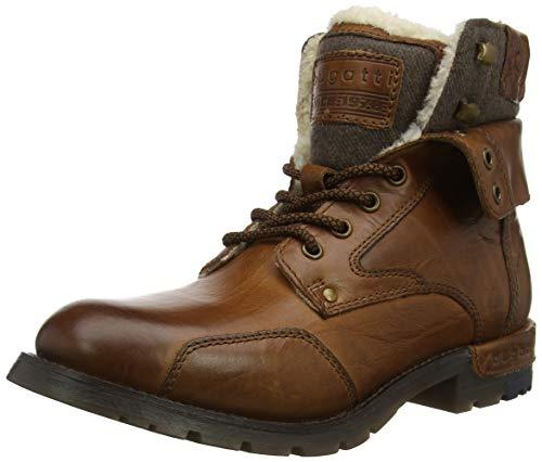 bugatti Herren 321611501000 Klassische Stiefel, Braun, 44 EU